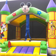 chateau mickey jeu gonflable